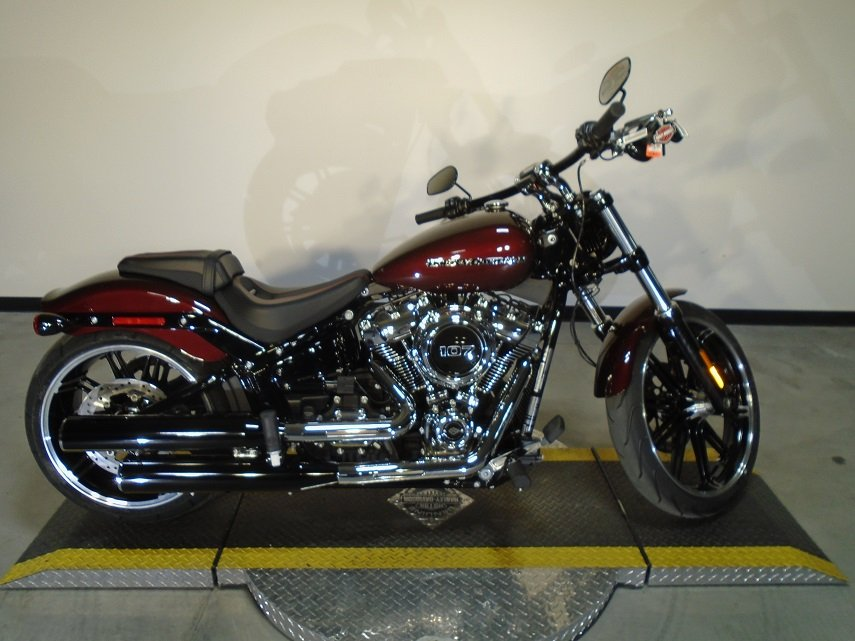 new 2018 harley davidson softail breakout fxbr softail in riverside 18fxbrchrry riverside. Black Bedroom Furniture Sets. Home Design Ideas
