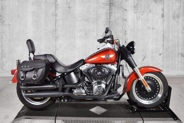 Pre-Owned 2013 Harley-Davidson Softail Fat Boy Lo FLSTFB