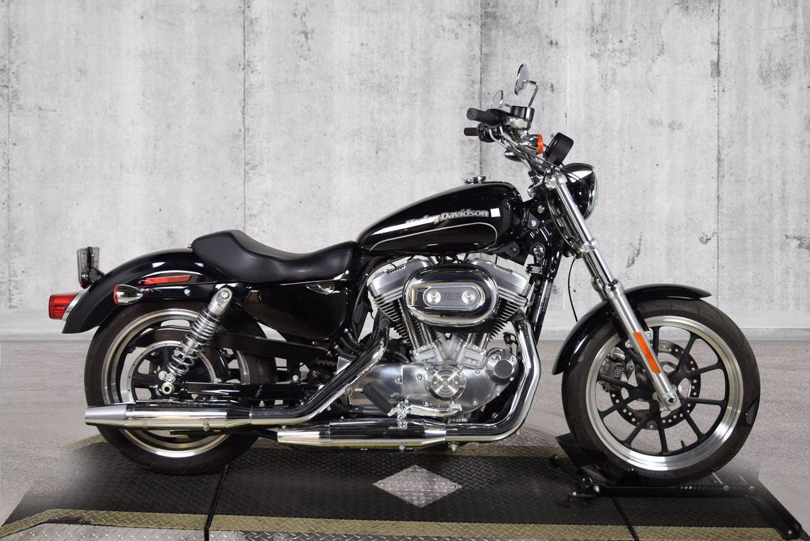 Pre-Owned 2016 Harley-Davidson Sportster 883 Superlow XL883L