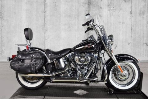 Pre-Owned 2014 Harley-Davidson Softail Heritage Classic FLSTC