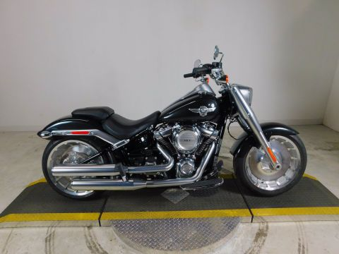 Pre-Owned 2018 Harley-Davidson Softail Fat Boy FLFB
