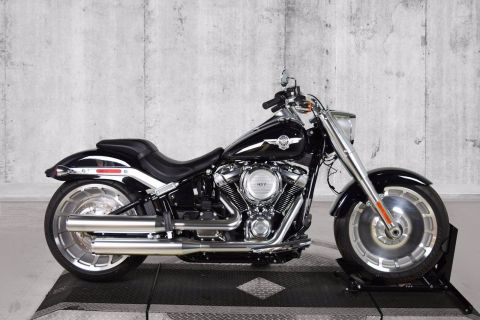 Pre-Owned 2019 Harley-Davidson Softail Fat Boy FLFB