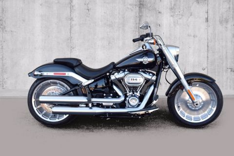 Pre-Owned 2020 Harley-Davidson Softail Fat Boy 114 FLFBS