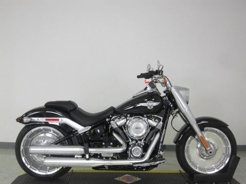 New 2018 Harley-Davidson Softail Fat Boy FLFB
