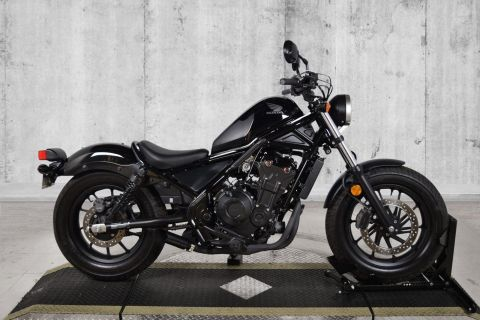 Pre-Owned 2017 Honda Rebel 500